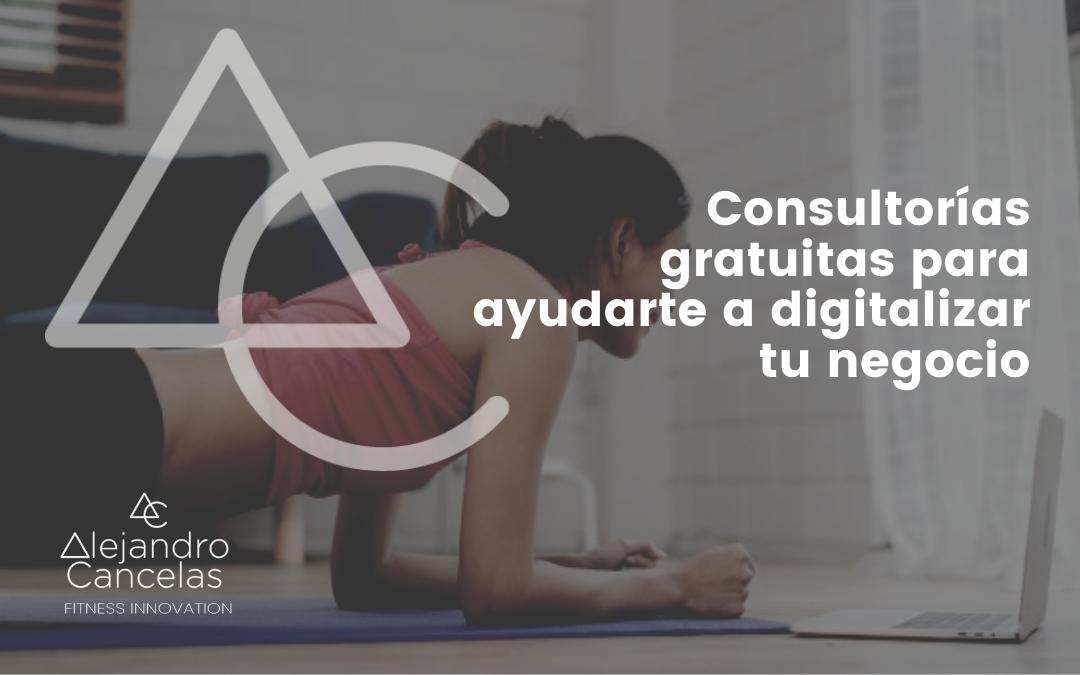 Consultorías gratuitas para ayudarte a digitalizar tu negocio